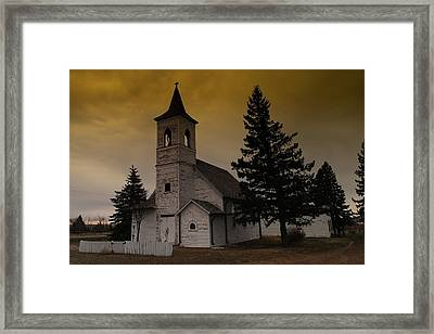 When Heaven Is Your Home Framed Print by Jeff Swan