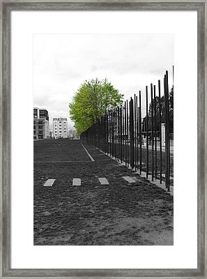 When Hope Blooms Again Framed Print by Stefan Kuhn