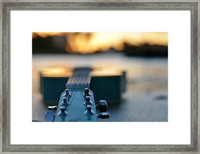 When I Look To The West Framed Print by Laura Fasulo