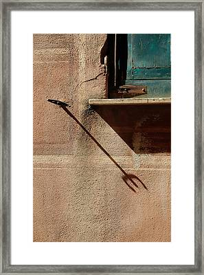When It's Alright.. Framed Print by A Rey