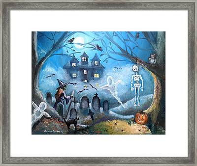 When October Comes Framed Print by Shana Rowe Jackson
