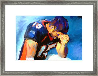 When Tebow Was A Bronco Framed Print by GCannon