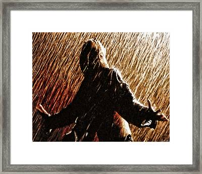 When That Moment Arrives Framed Print by Joe Misrasi