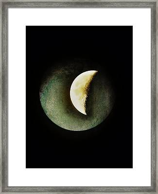 When The Moons Collide Framed Print by Marianna Mills