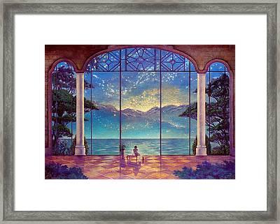When The Stars Awaken Framed Print by Michael Z Tyree