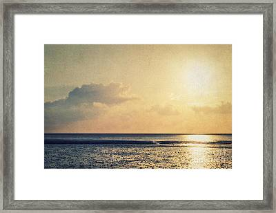 When The Sun Goes Down... Framed Print by Angela Doelling AD DESIGN Photo and PhotoArt