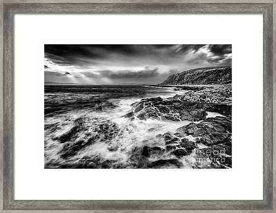 When The West Wind Blows Framed Print by John Farnan