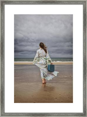 When The Wind Blows Away My Dreams Framed Print by Joana Kruse