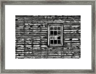 When Times Were Simpler Framed Print by Dawn J Benko