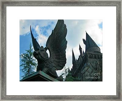 When Warthogs Fly Framed Print by John Malone