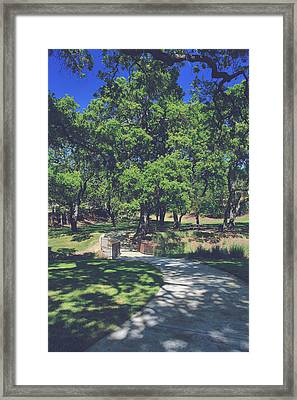 When We First Met Framed Print by Laurie Search