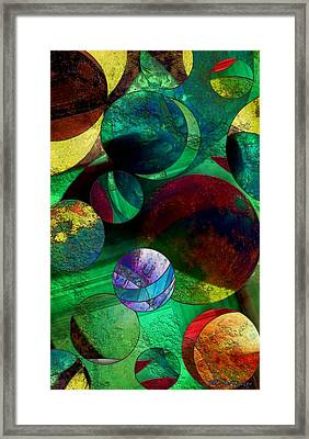 When Worlds Collide Framed Print by RC DeWinter
