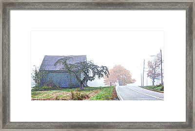 When You Take A Drive Framed Print by Richard Bean