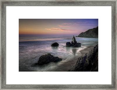 When You're In Love Framed Print by Sean Foster