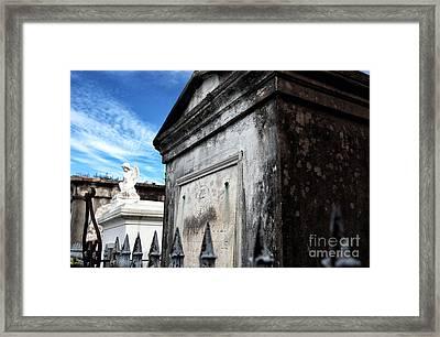Where Angels Live Framed Print by John Rizzuto
