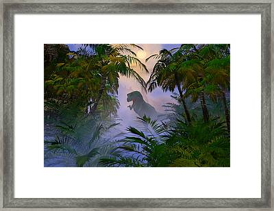 Where Are You Framed Print by Claude McCoy