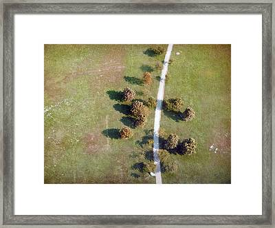 Where Are You Going Framed Print by Renata Vogl