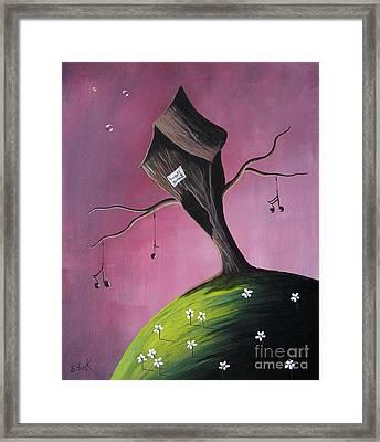 Where Dreams Are Made By Shawna Erback Framed Print by Shawna Erback
