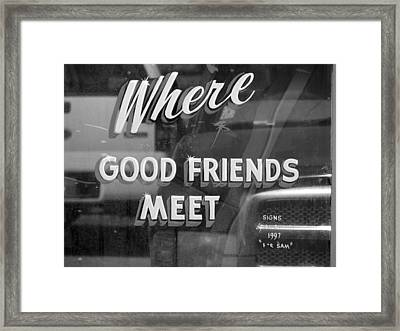 Where  Framed Print by Eagle  Finegan