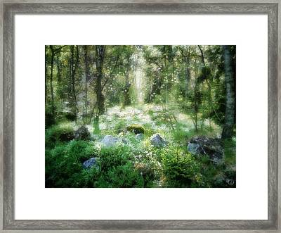 Where Fairies Dwell Framed Print by Gun Legler