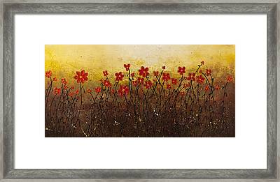 Where Happiness Grows Framed Print by Carmen Guedez