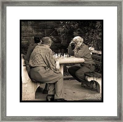 Where Is Bobby Fischer Framed Print by Madeline Ellis