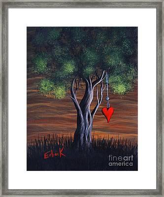 Where Love Grows By Shawna Erback Framed Print by Shawna Erback