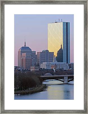 Where Old And New Meet Framed Print by Juergen Roth