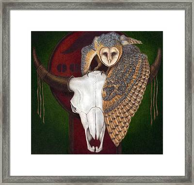 Where Once They Roamed Framed Print by Pat Erickson