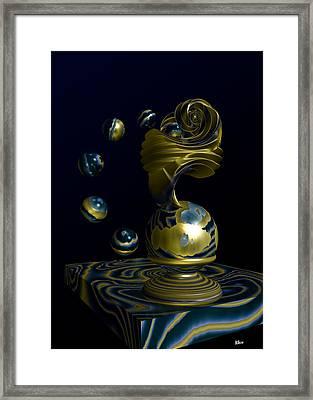 Where Planets Are Born Framed Print by Hakon Soreide