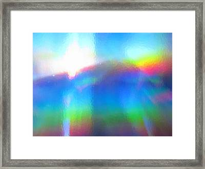 Where Rainbows Dwell Framed Print by Jessica-Faye Watters