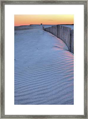 Where The Boardwalk Ends Framed Print by JC Findley