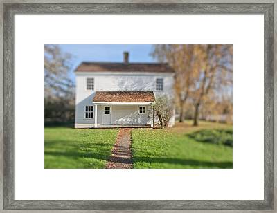 Where The Heart Is Framed Print by Bonnie Bruno