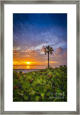 Where The Heart Is Framed Print by Marvin Spates
