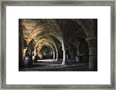 Where The Monks Once Pressed The Wine Framed Print by Joachim G Pinkawa