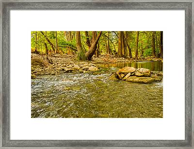 Where The River Runs Wild Framed Print by Casey Marvins