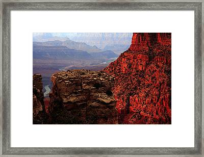 Where The River Takes You Framed Print by Kenan Sipilovic