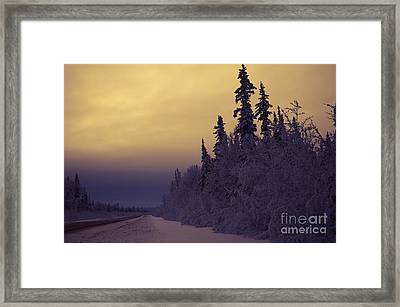 Where The Road Goes Framed Print by Lisa Killins