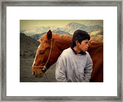 Where The Winds Carry Me Framed Print by Ramon Fernandez