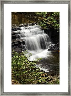 Where Waters Meet Framed Print by Christina Rollo