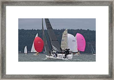 Whidbey Penn Cove Framed Print by Steven Lapkin