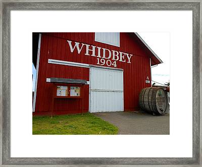 Whidbey's Greenbank Farm Framed Print by Kay Gilley