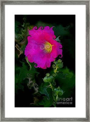 Whimsical Delight Framed Print by Vicki Pelham