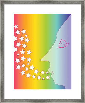 Whimsical Framed Print by Dena Badan