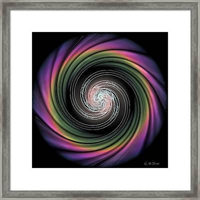 Whirl Wind Meditation Framed Print by Michael Durst