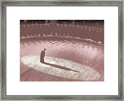 Whirling Dervish - 7 Framed Print by Okan YILMAZ