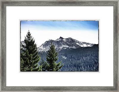 Whistler Mountain Framed Print by Jim Nelson