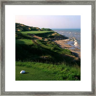 Whistling Straits 7 Framed Print by Ken  May