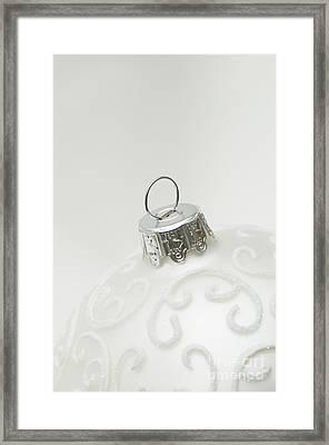 White Christmas Framed Print by Anne Gilbert