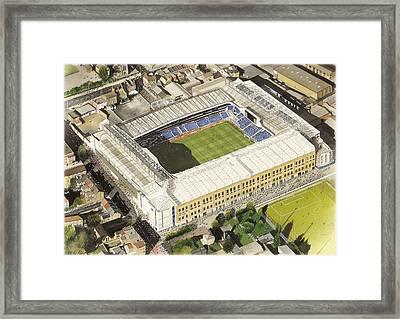 White Hart Lane - Tottenham Hotspur Fc Framed Print by Kevin Fletcher